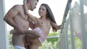 21naturals - Безумно красивый секс на балконе